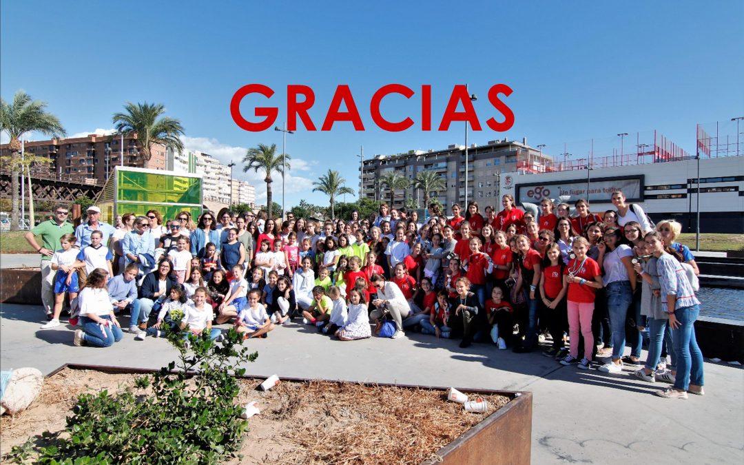 ¡Gracias voluntarios Olimpiadas!