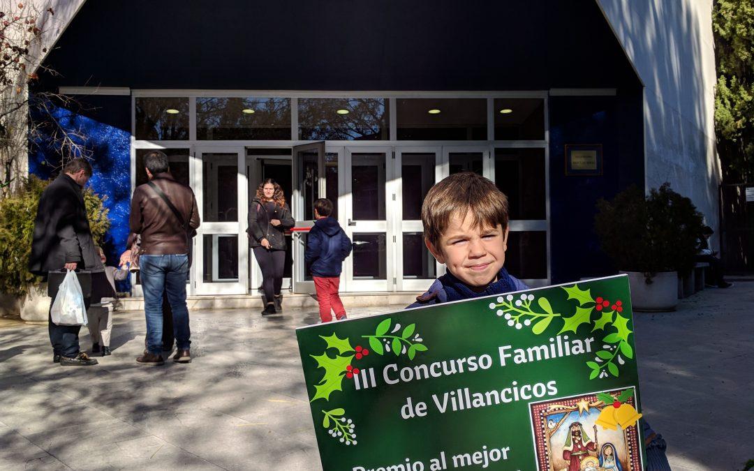 Premio Concurso Familiar de Villancicos